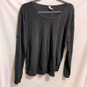 Indigenous Striped Long Sleeve Top